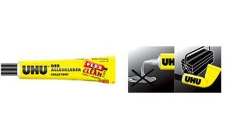 UHU Colle universelle FLEX CLEAN tube en plastique 20 g