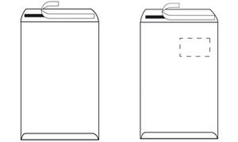 Herlitz enveloppe d 39 exp dition c5 avec fen tre marron for Enveloppe avec fenetre