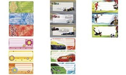 HERMA étiquettes pour livres 76 x 35 mm motif tuning