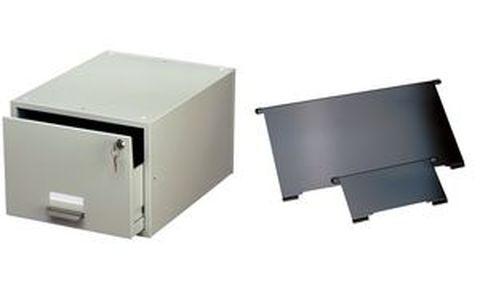 durable tiroir pour fiche bristol a5 en acier gris durable. Black Bedroom Furniture Sets. Home Design Ideas